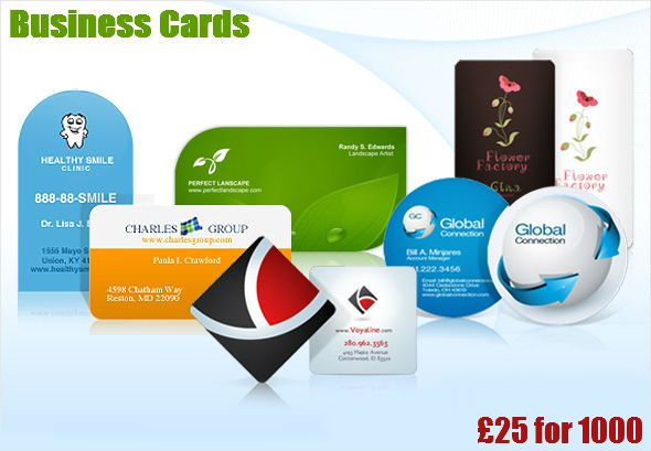 Business Cards From 25 For 1000 At Saxoprint Cheap Business Cards Business Cards Online Printing Services