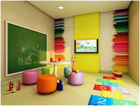 Ideas Para Crear áreas De Juego Para Niños Dale Detalles Sala De Juegos Para Niños Decoraciones De Guardería Guardería En Casa
