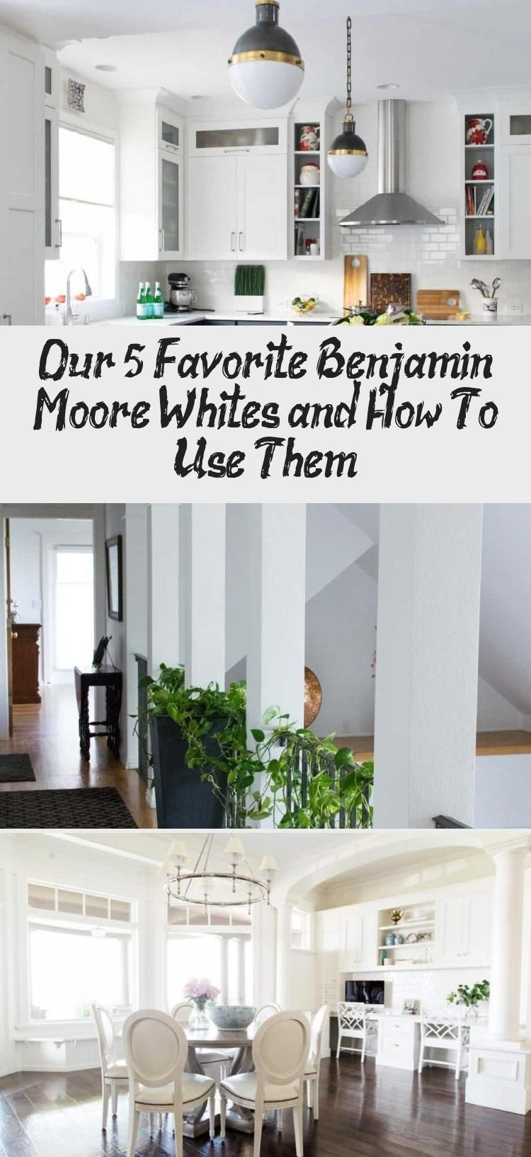 White Paint colors are the latest go-to trend. We put together a post on our favorite Benjamin Moore white paint colors (and when to use them) with their Sherwin Williams and Behr matches. Our favorites are White Heron, Chantilly Lace, Simply White, Swiss Coffee and Classic Gray. #paintcolorideas #bestpaintcolors #whitekitchens #whitepaintcolors #whitepaint #thecolorconcierge #Benjaminmoore #sherwinwilliams #behr #thecolorconcierge #CoastalPaintColors #PaintColorsForHome #PaintColorsWithWoodTr