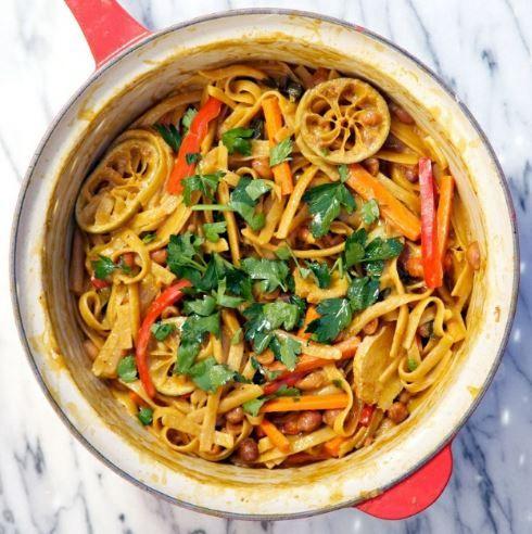 Einfacher gehtu0027s nicht 3 One Pot Pasta Rezepte für die schnelle - schnelle vegane küche