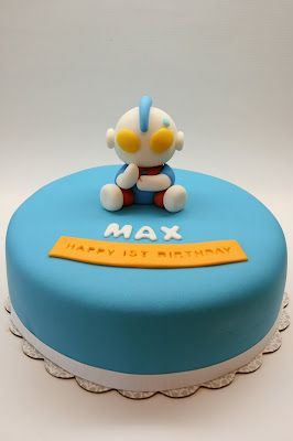 ultraman birthday cake Birthday idea Pinterest Birthday cakes