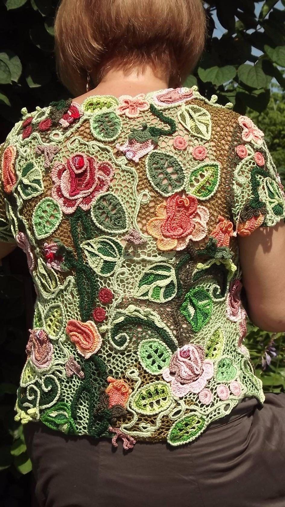 ирландское кружево из модного журнала 8