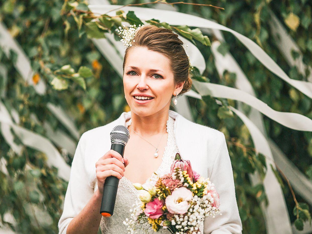 Egal ob Dankesrede oder Rede der Trauzeugen eine Hochzeitsrede sollte immer ehrlich sein  XXY