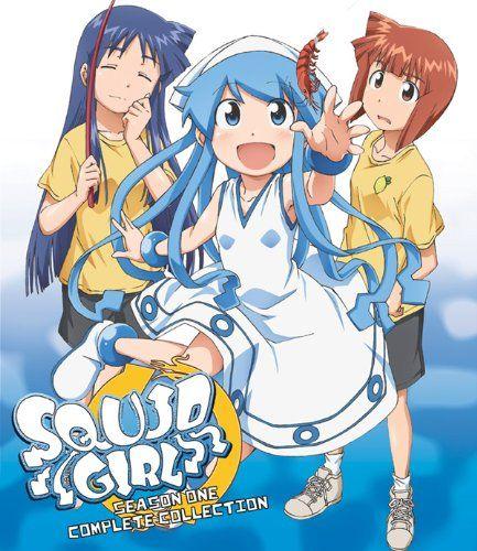 Octopus Girl Squid Girl Anime Girls Season