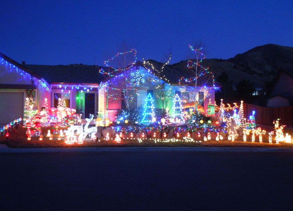 Reno Christmas Light Displays In Hidden Valley