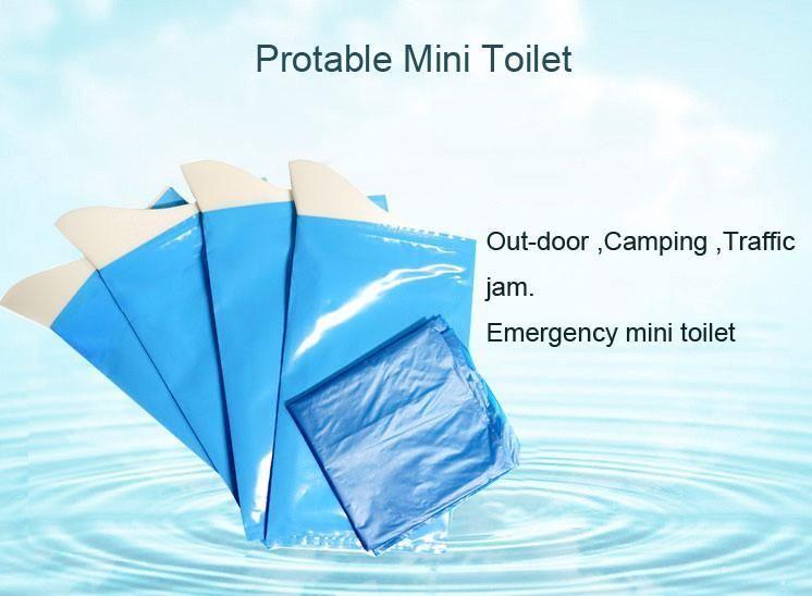 Portable Mini Emergency Toilet Urinate Bag Travel Outdoor Pee