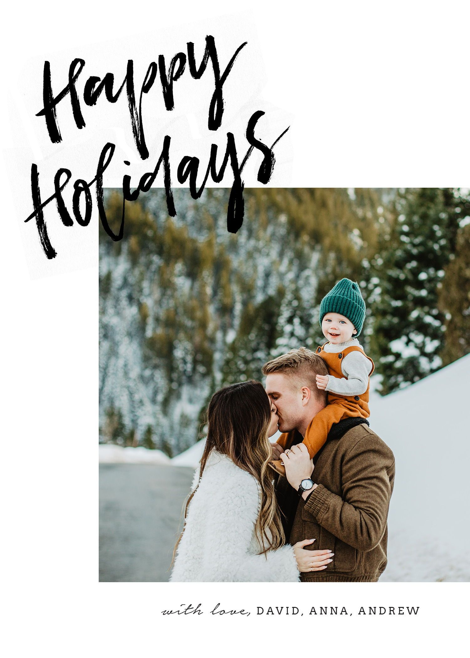 Christmas Card Photoshop Template Holiday Card Template Etsy Family Christmas Card Photos Family Holiday Photos Christmas Cards Photography