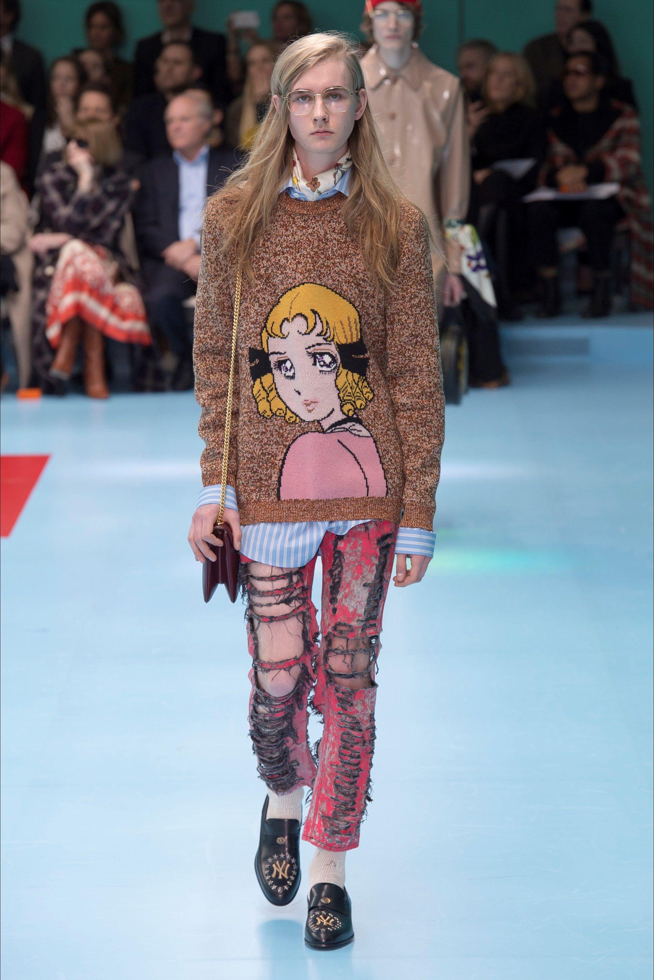 Sfilata Gucci Milano - Collezioni Autunno Inverno 2018-19 - Vogue ... bda6b715b41