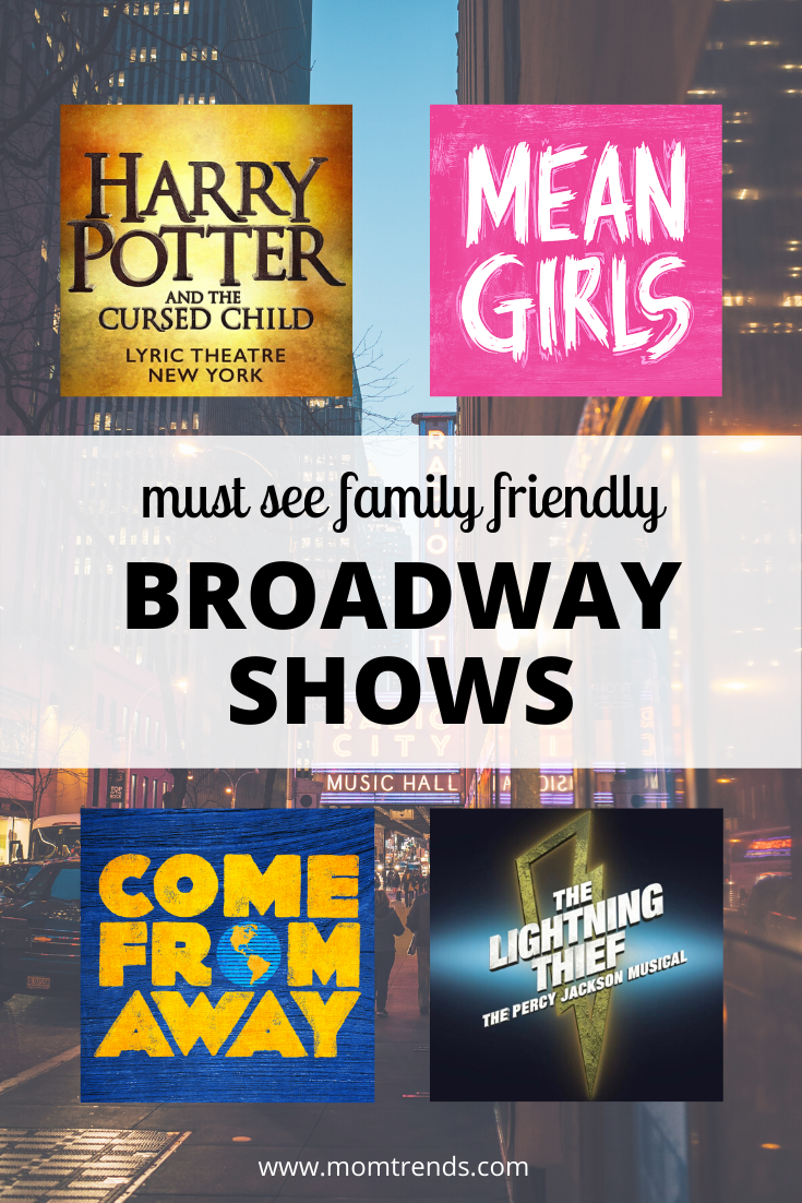 Broadway For Kids And Family Shows In Nyc Family Show Broadway Shows In Nyc