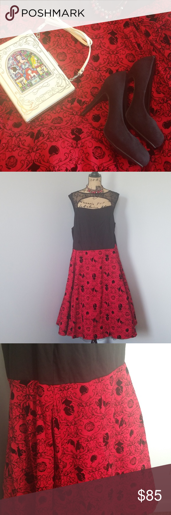 Lace dress torrid  Disney Dress Torrid W Velvet Damask Halloween  My Posh Picks