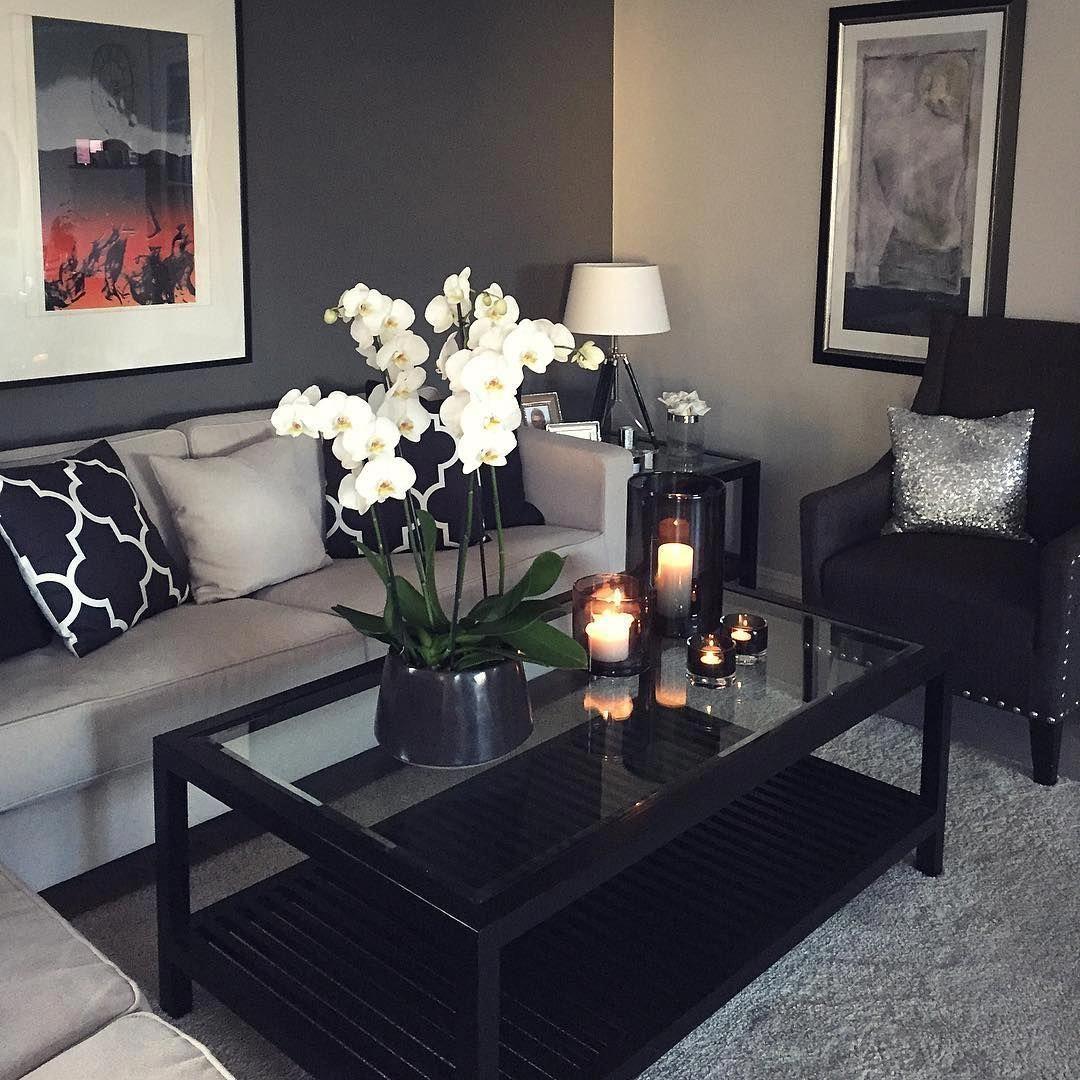 So elegant living space also modern room design ideas decorating rooms rh pinterest