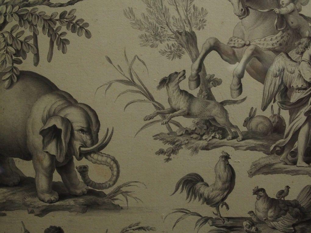 Vues de l'exposition Jean-Baptiste Huet. Le plaisir de la nature. Musée Cognacq - Jay, Paris © photographie Le Curieux des arts Gilles Kraemer, visite presse, février 2016