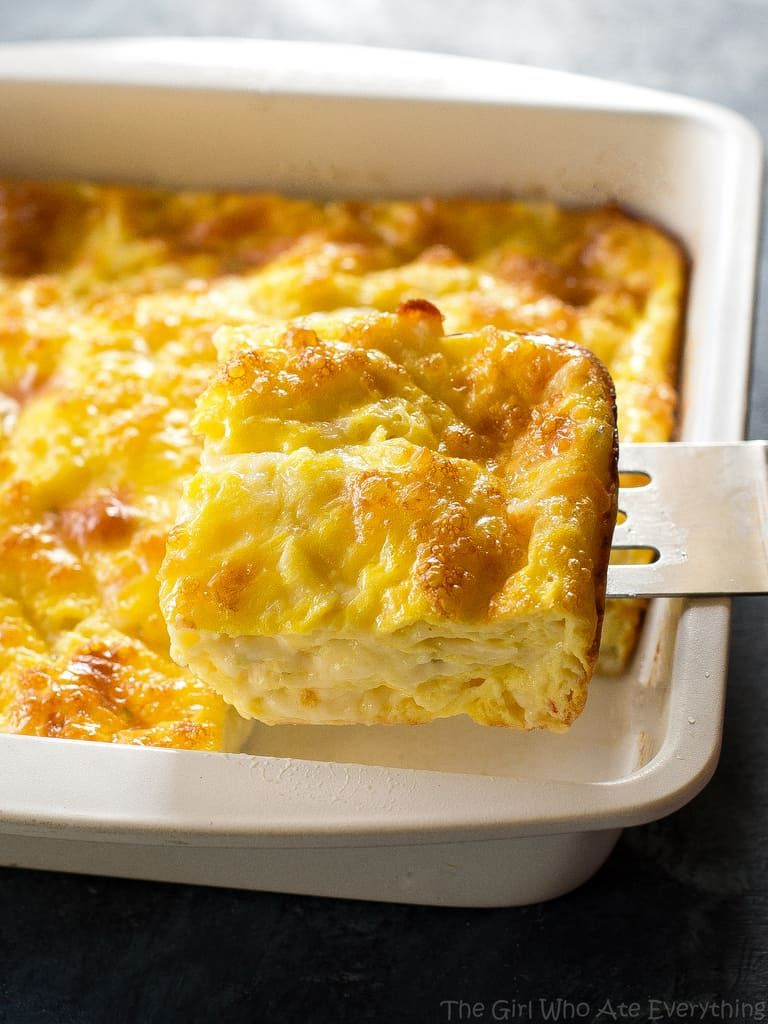 Photo of The Best Cheesy Baked Eggs Recipe – The Girl Who Ate Everything