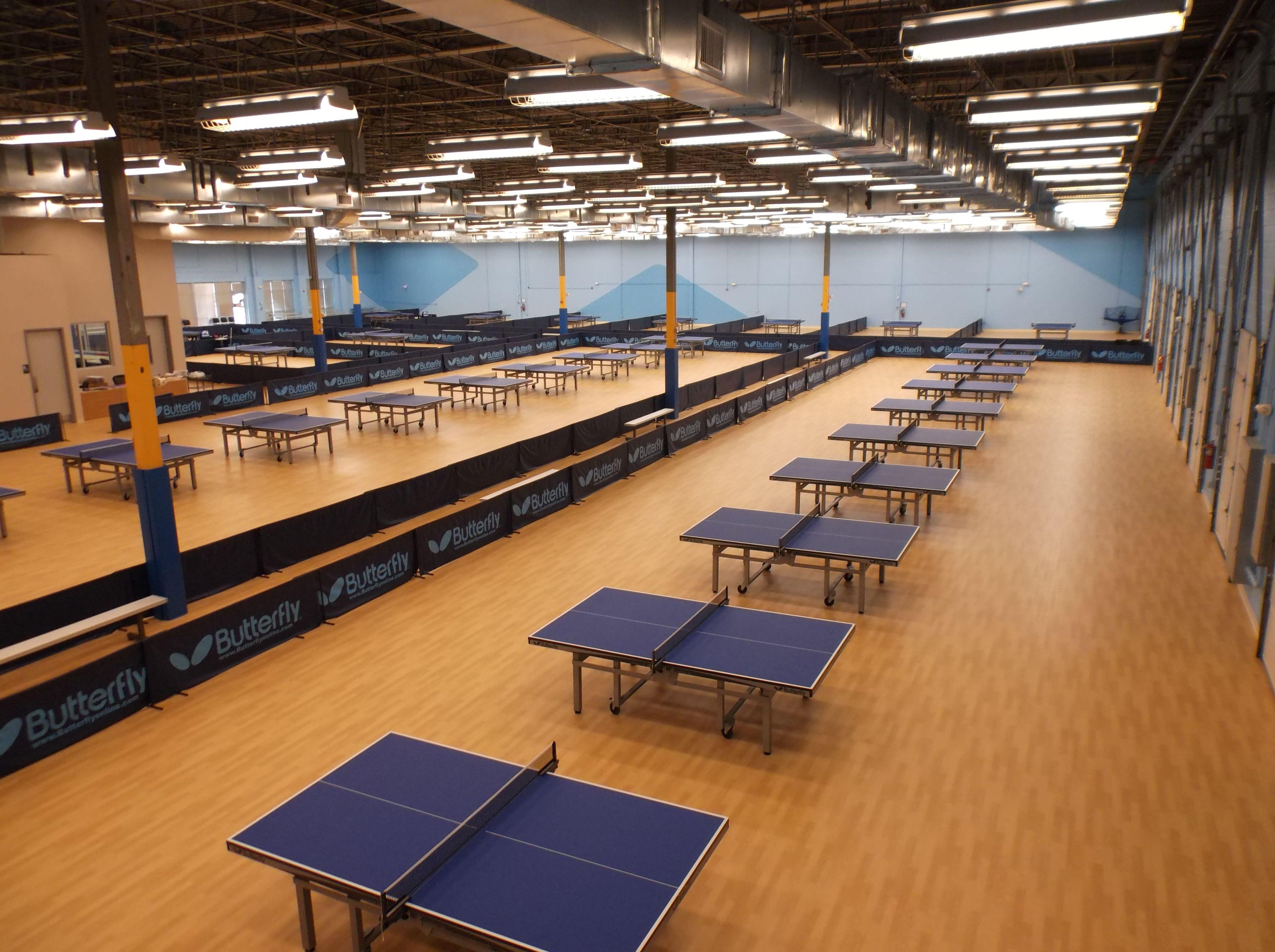 Taraflex Is The Official Flooring Of Triangle Table Tennis Club Design Flooring Interior