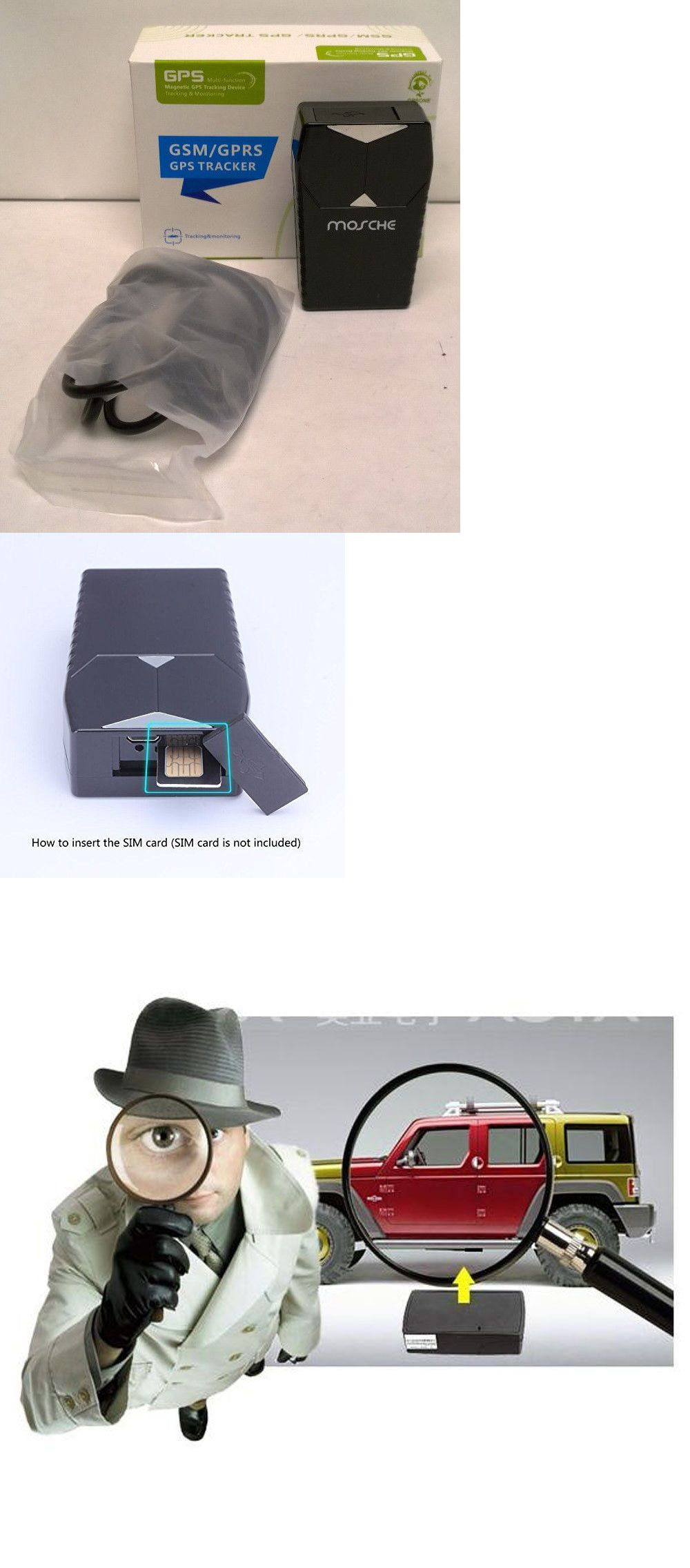Tracking Devices Car Gps Tracker Waterproof Gpsgsmgprs Tracking System With