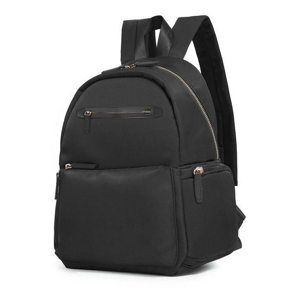 Photo of Lightweight Nylon Backpack Small Purse for Women – Black-1 – C812OBSSASC – Women…