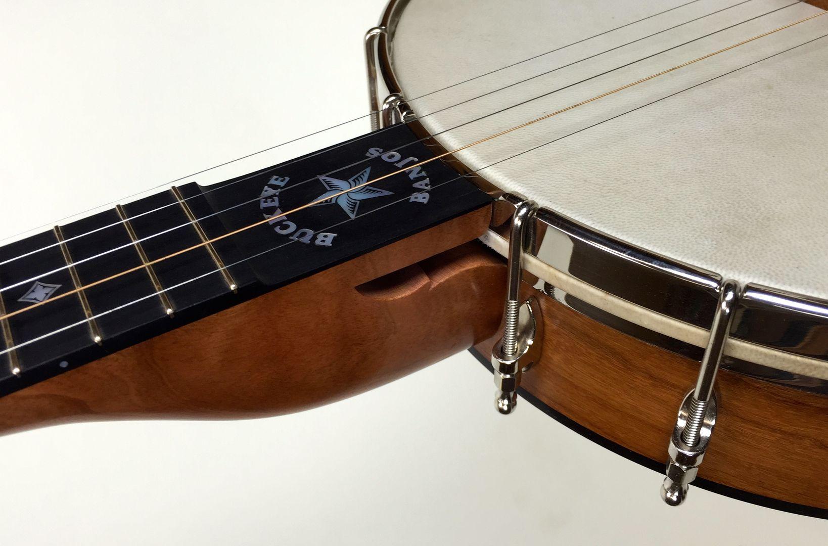 Latest Banjos for Buckeye Banjos. Custom openback banjos