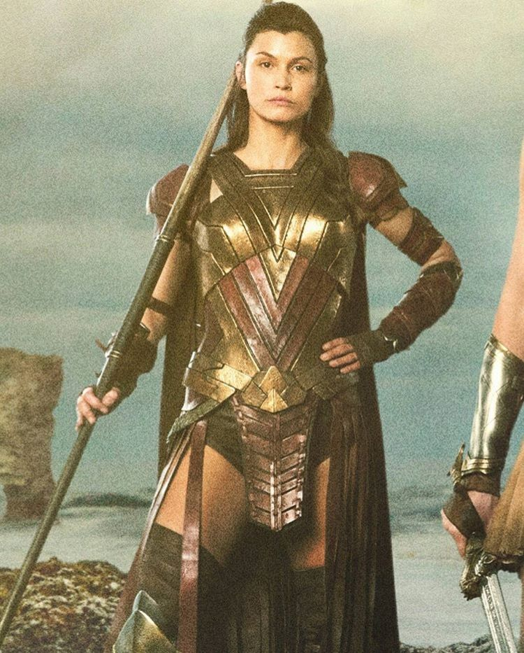 Leutnant Menalippe Female Armor Warrior Woman Wonder Woman Movie