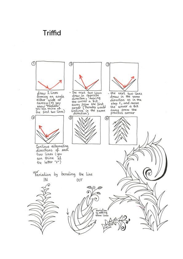 Hand-done pattern worksheets. | zentangle | Pinterest | Worksheets ...