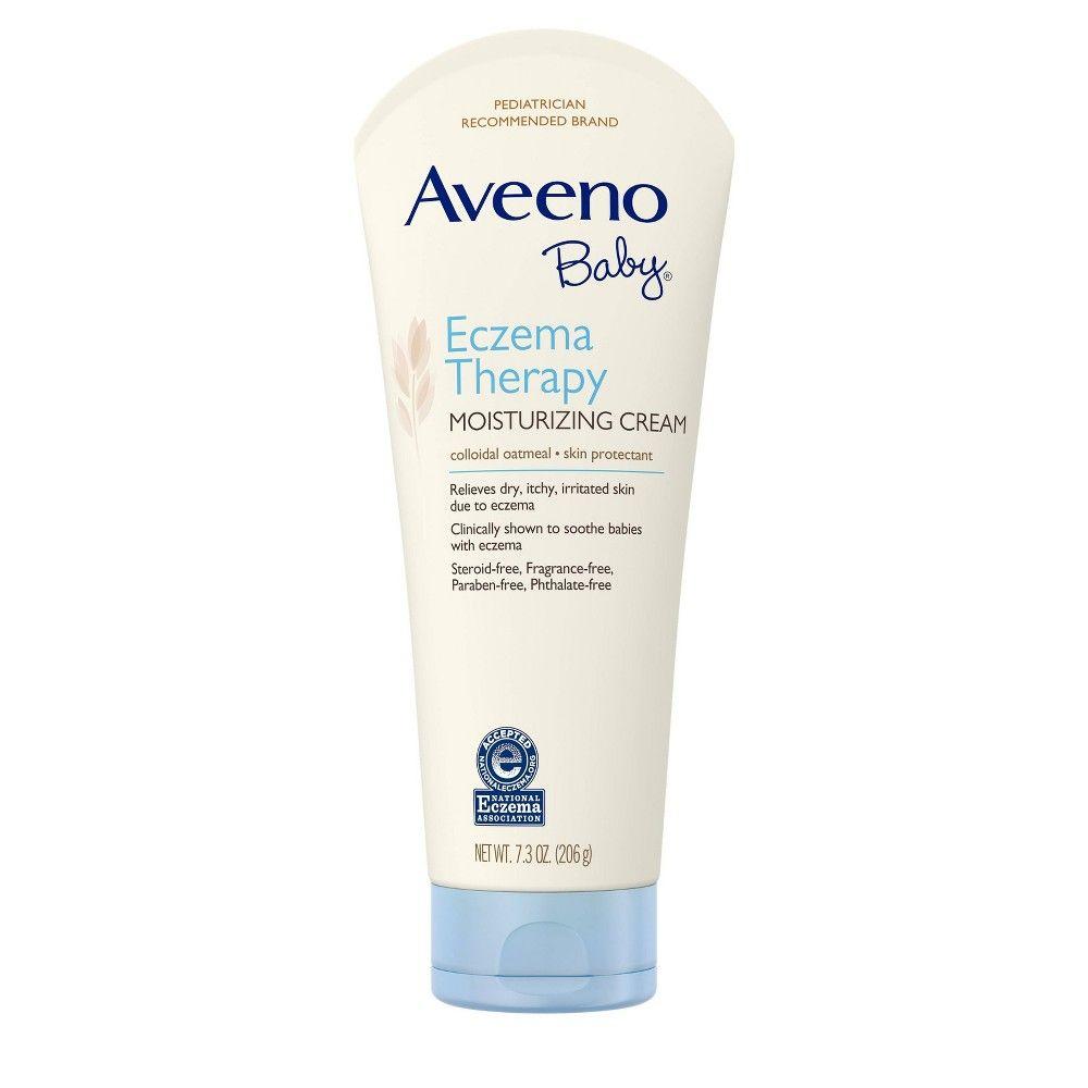 Aveeno Baby Eczema Therapy Moisturizing Cream 7 3oz In 2020 Baby Eczema Aveeno Baby Moisturizer Cream