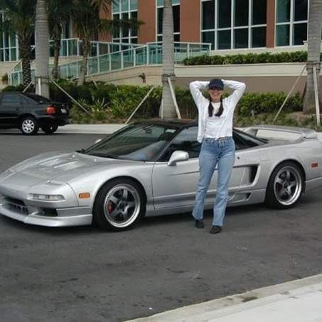 DJ with my NSX, taken 10/28/2001 in Miami.
