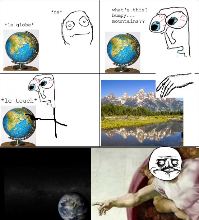 Le Bumpy Mountain Touch