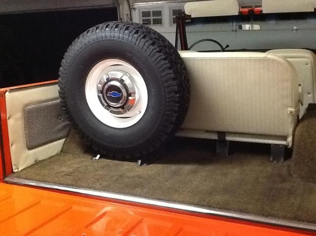 Max Tire Size For Spare Tire Carrier The 1947 Present Chevrolet