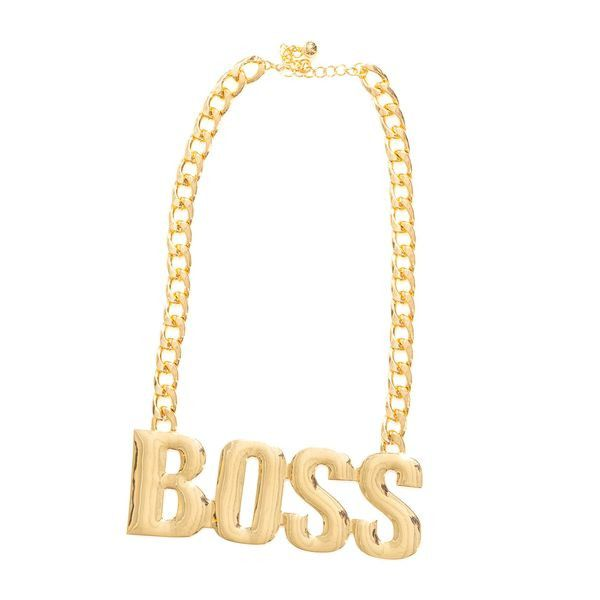 Boss Necklace Boss Thick Gold Chain And Products