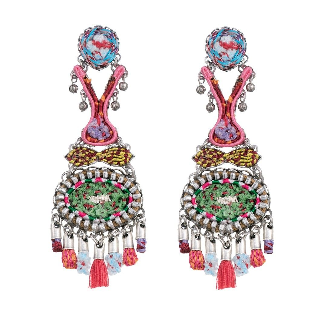 Ayala Bar The Essentia Collection. Spring Summer 2017 Flora Iris Earrings