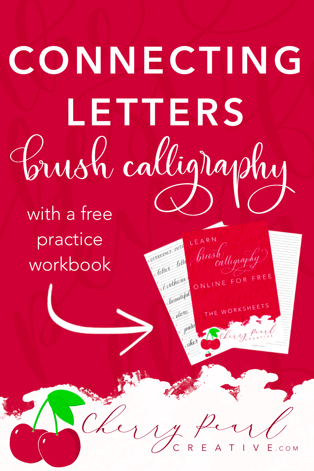 Learn To Connect Letters In Brush Calligraphy In