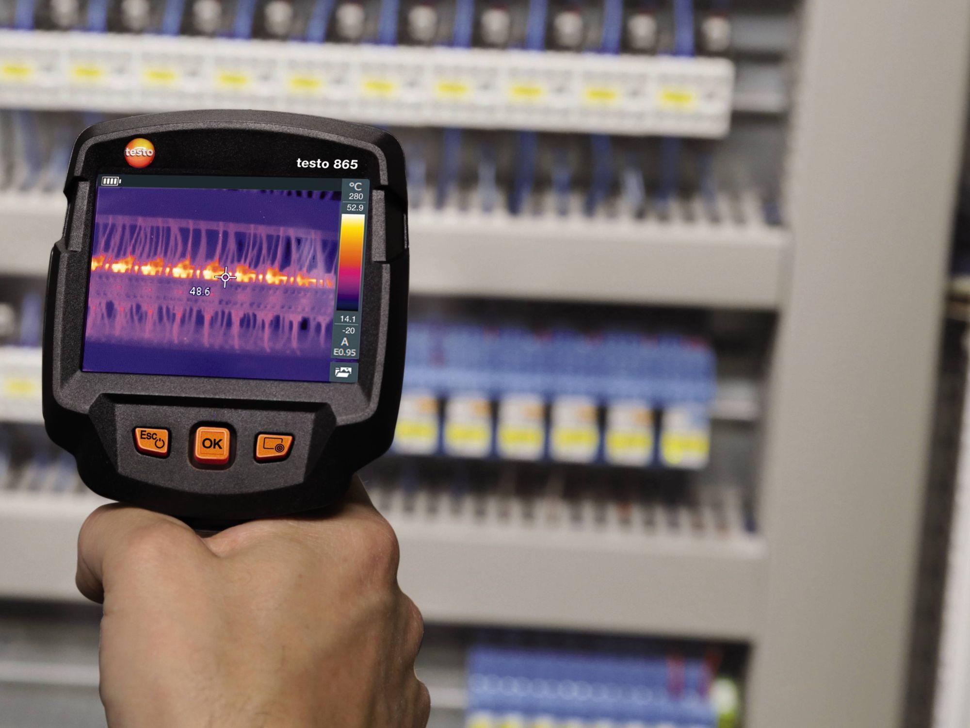 testo 865 Thermal Imaging Camera Part No. 0560 8650 The