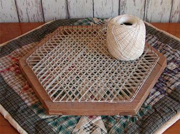 Hexagon Loom Weaving On Small Looms Handloom Weaving