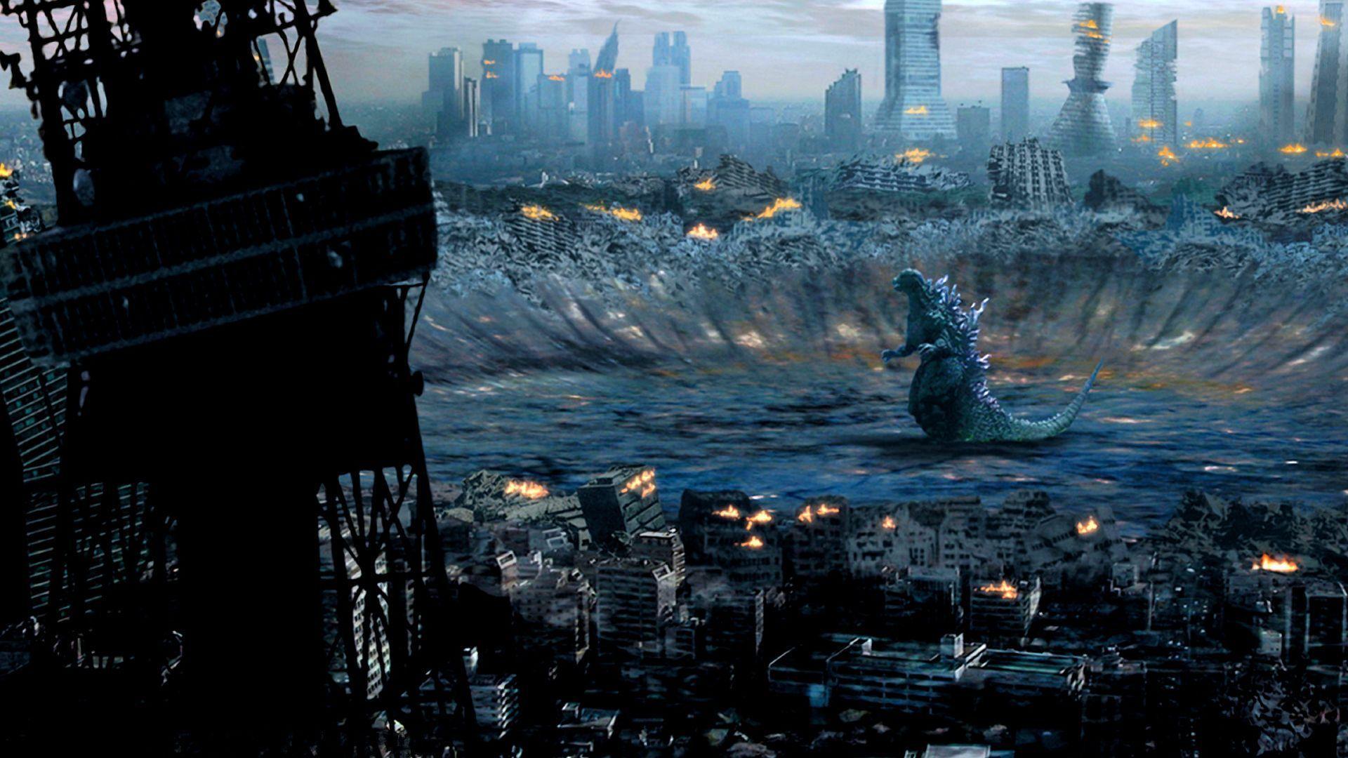 Godzilla goes booom | Godzilla | Godzilla wallpaper