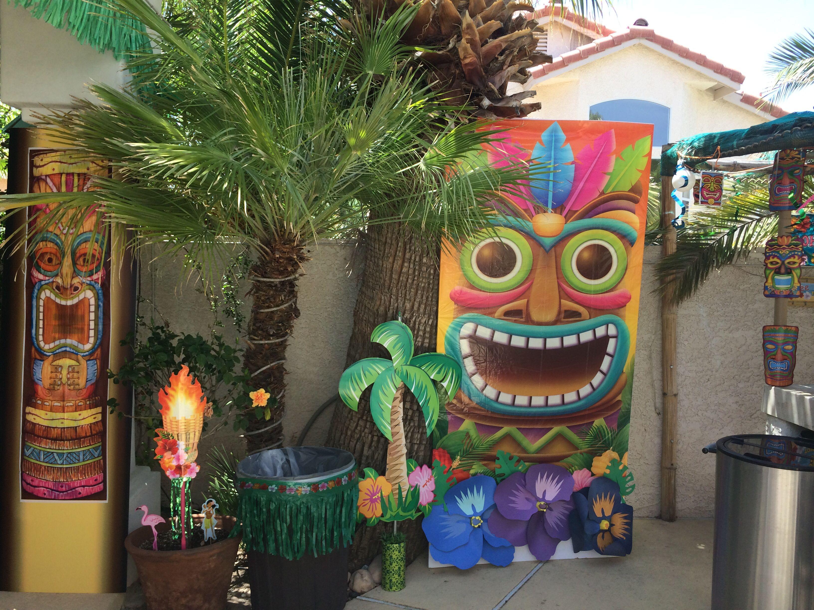 Backyard (With images) | Its my birthday, Luau party, Luau