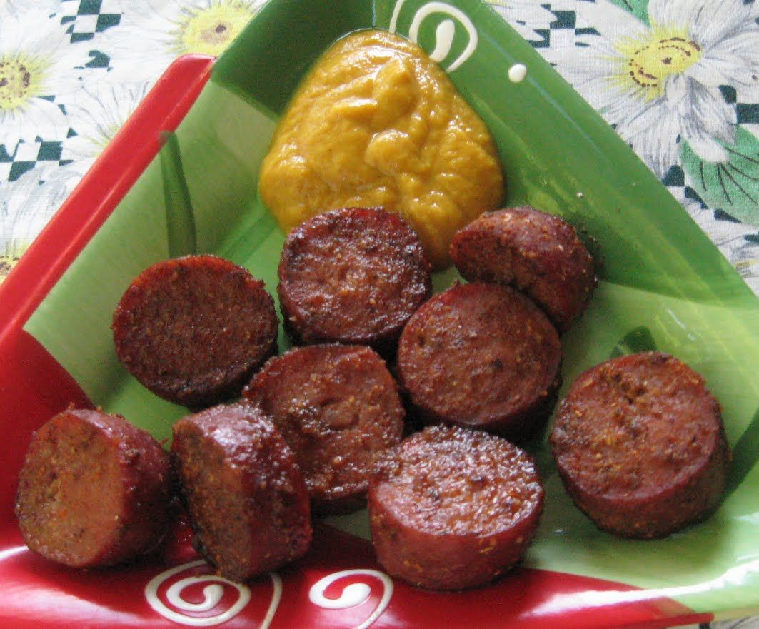 Mustard and Ginger Cocktail Sausages #cocktailhour #Appetizer #Snack #Sausage #Recipe #Recipes