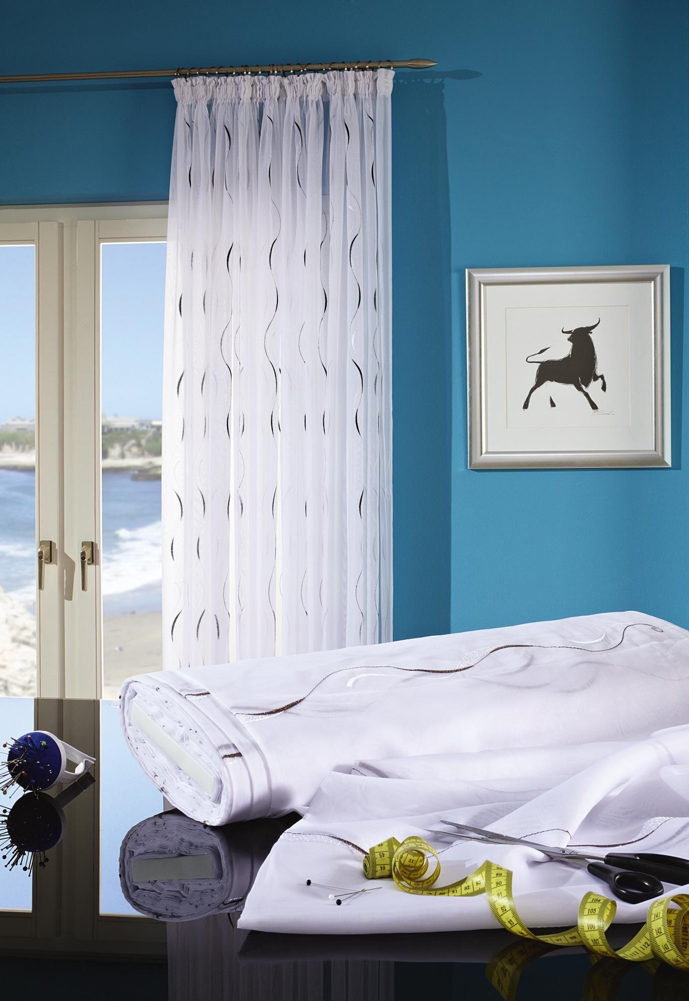 Gardine von ESPOSA mit chicem Design: frisch & elegant! | Gardinen