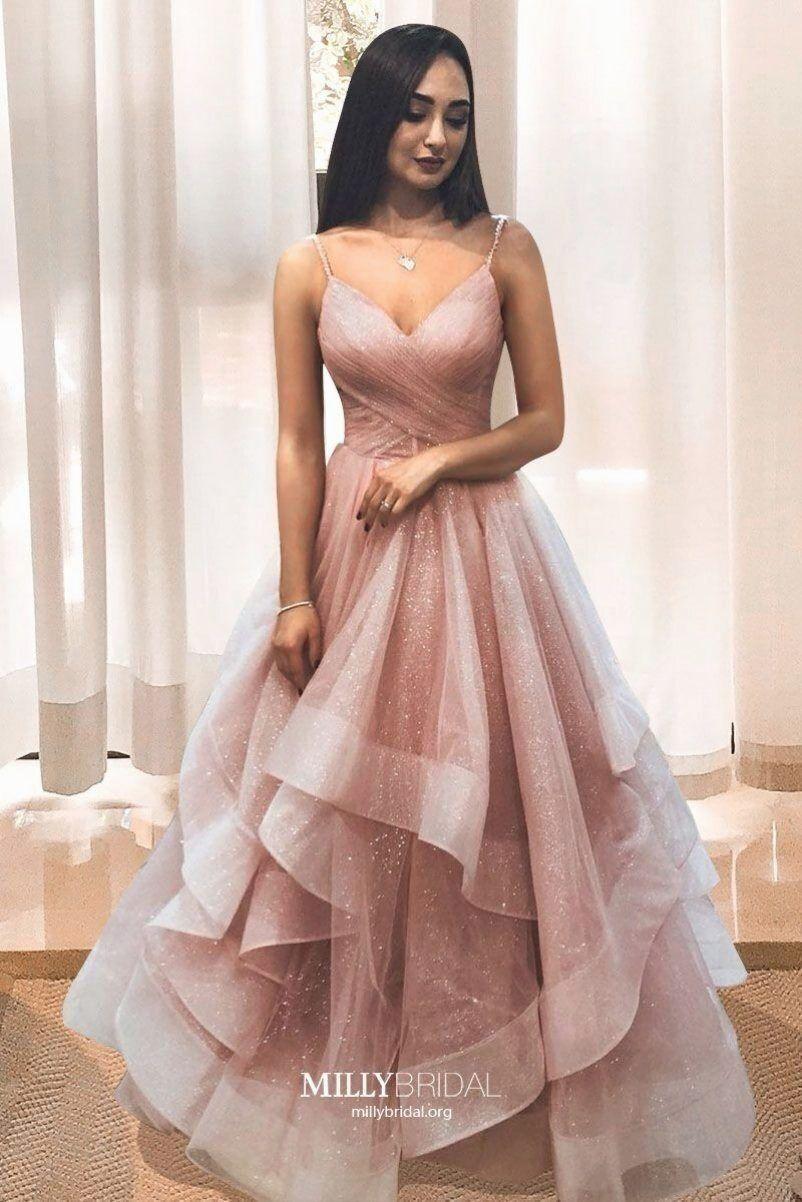 Lange abendkleider rosa Incess prom kleider 12 Arkly