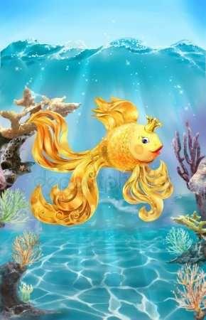 Золотая рыбка сказки картинки – Картинки золотая рыбка ...