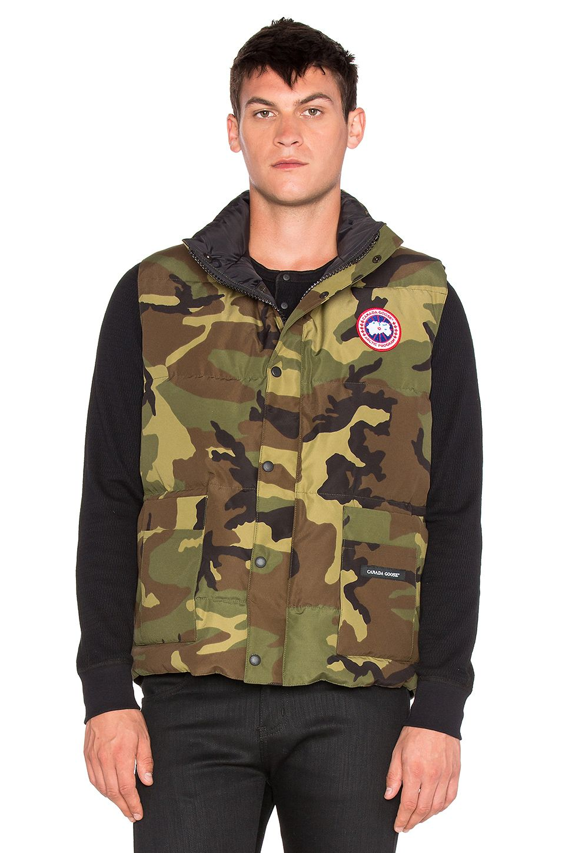 CANADA GOOSE Freestyle Vest. #canadagoose #cloth #top #shirt #sweater #