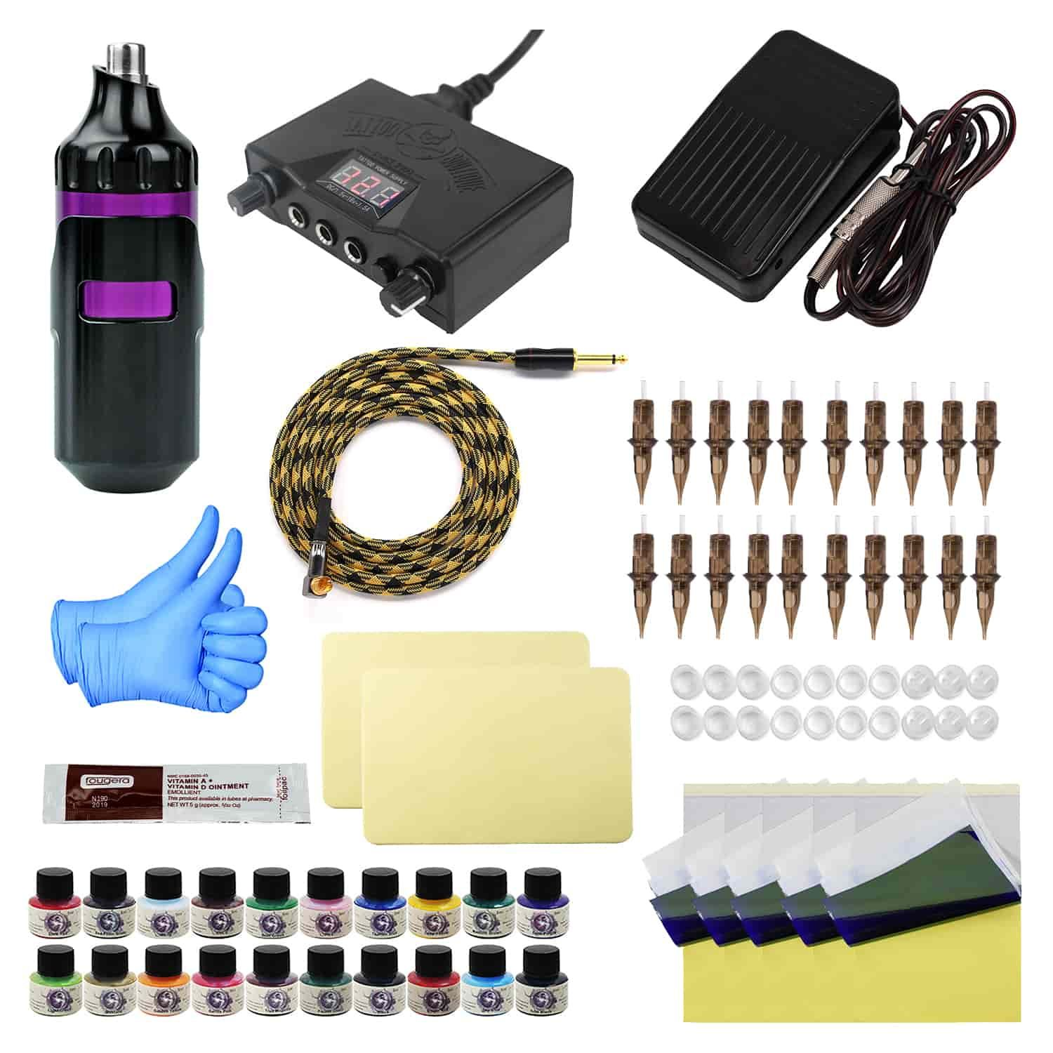 Tattoo Pen & Permanent Makeup Pen Kit