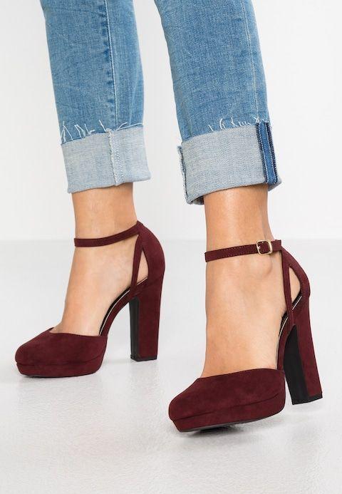 new look red stilettos