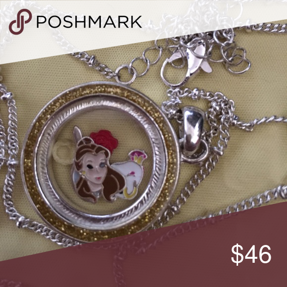 Beauty and the Beast necklace This necklace is beautiful and perfect for any Disney lover! Disney Jewelry Necklaces