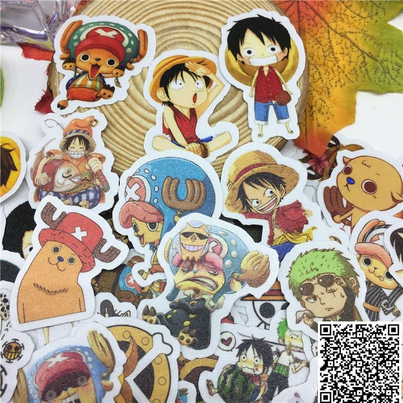 30 Pcs Anime Boy Character Stickers For Car Styling Bike