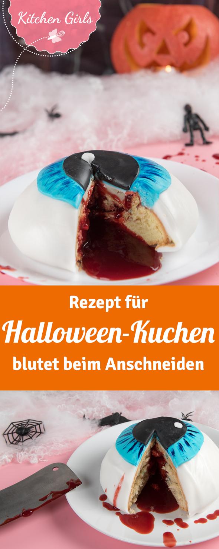 Blutender Augenkuchen | Halloween kuchen, Halloween und Kuchen