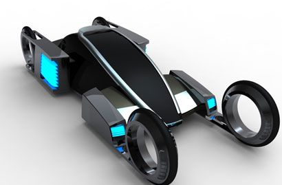 Cool Cars - Futuristic Transportation