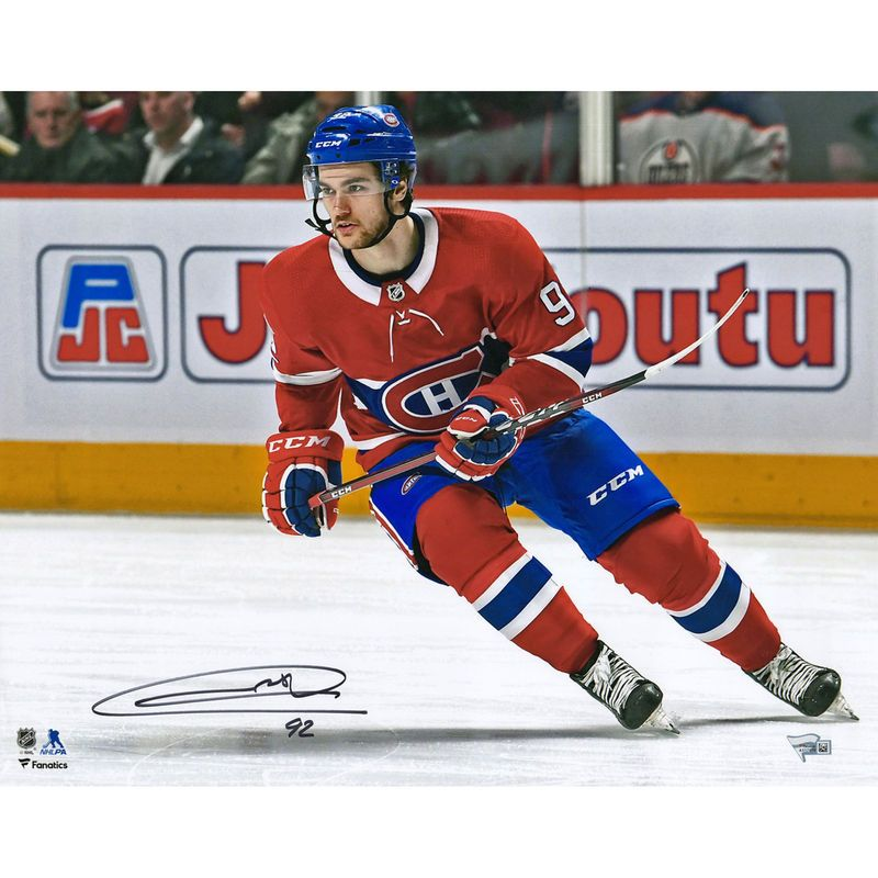super popular 9dc7a 9f67c Jonathan Drouin Montreal Canadiens Fanatics Authentic ...