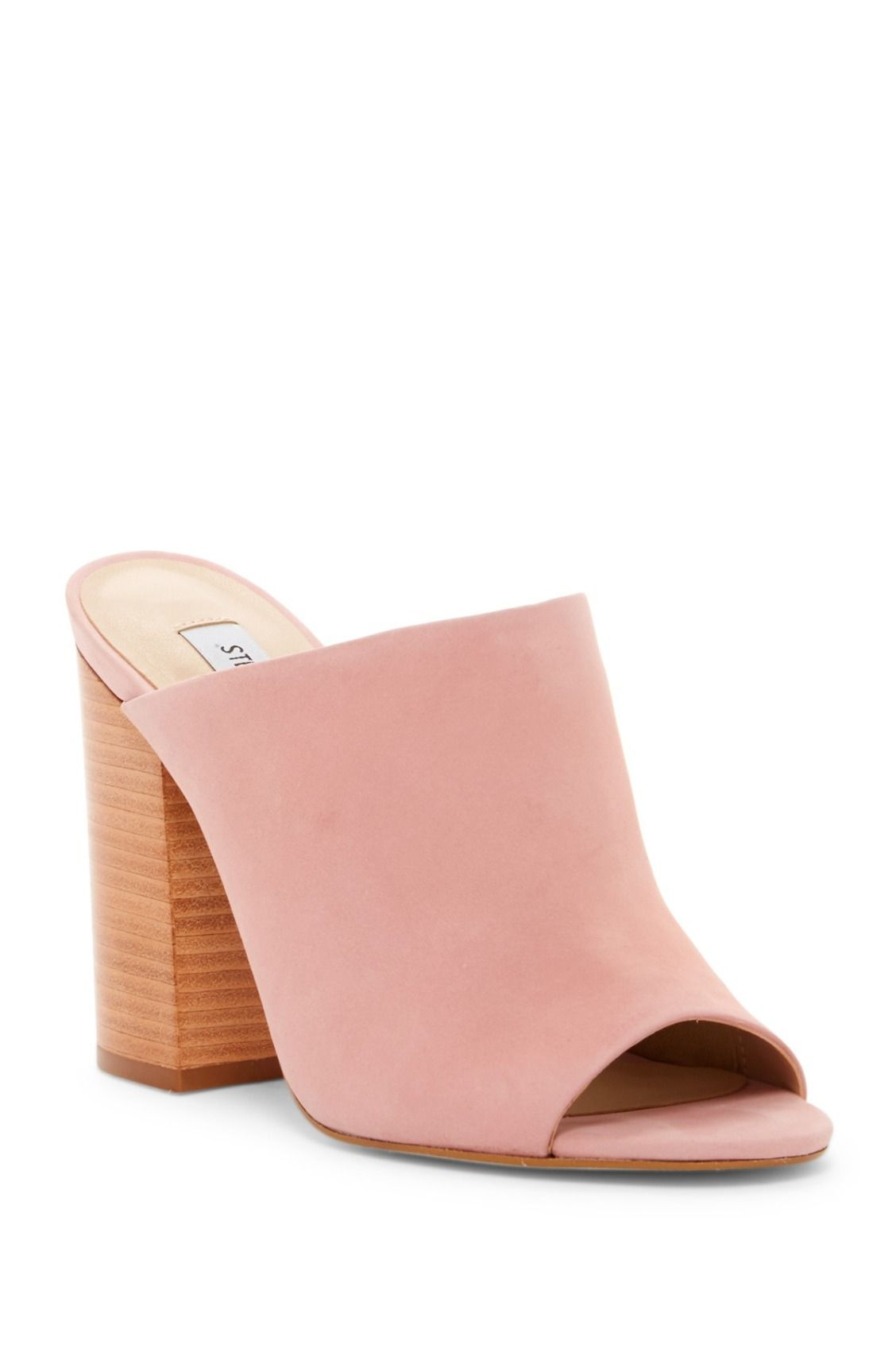 Pretty in pink! Steve Madden Skylar Open Toe Mules