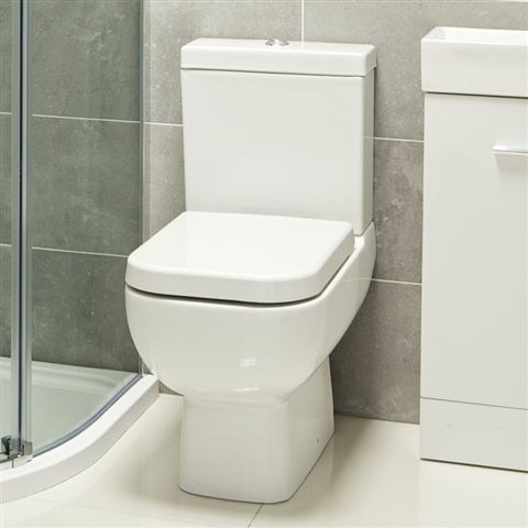 Maurina Small Toilet With Soft Close Seat Bathroom Heaven Uk 215 Http Www Bathroomheaven Com Cl Toilet For Small Bathroom Small Toilet Small Toilet Room