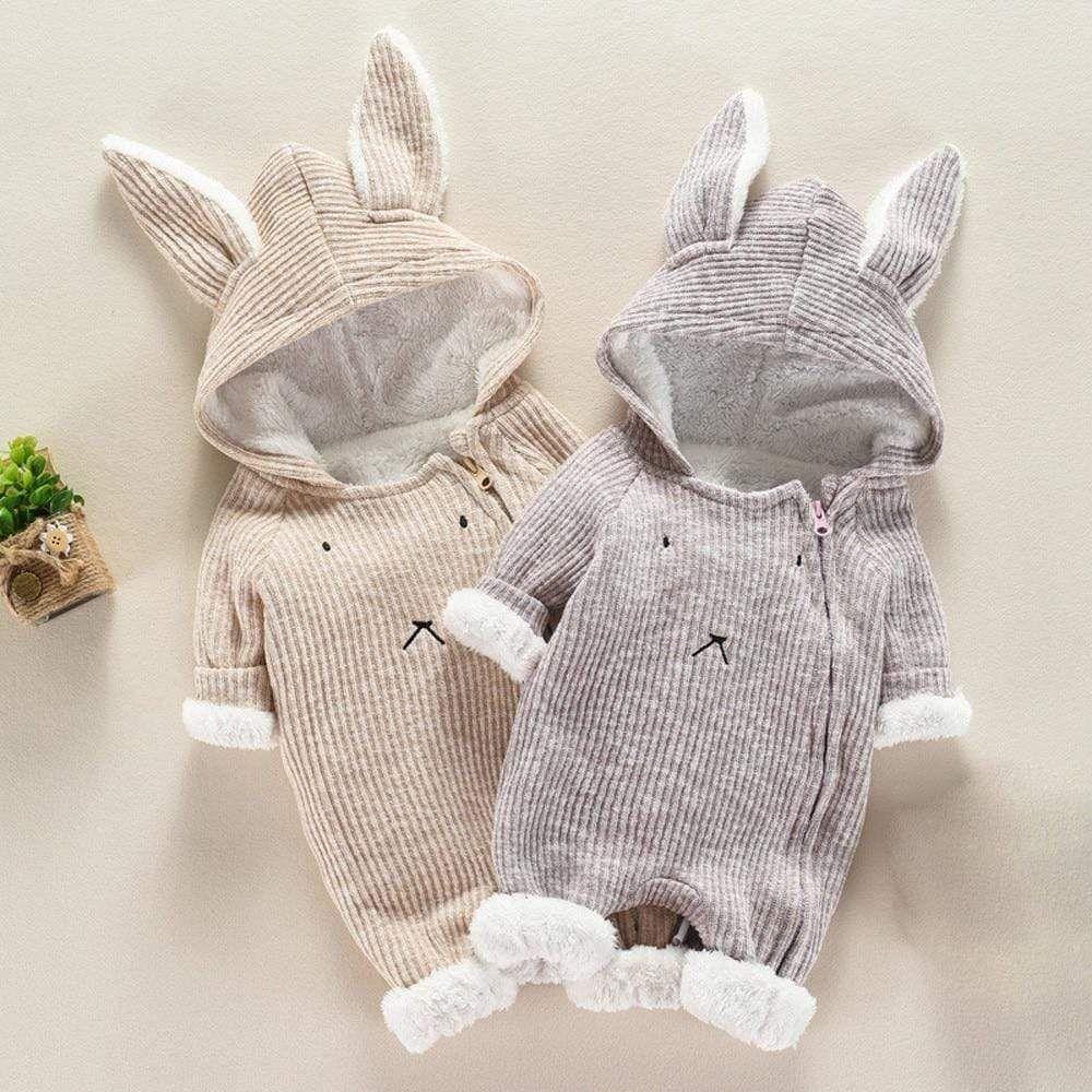 83c5d93cd Bunny Woollen Fleece Jumpsuit | Baby stuff | Baby, Baby bunnies ...