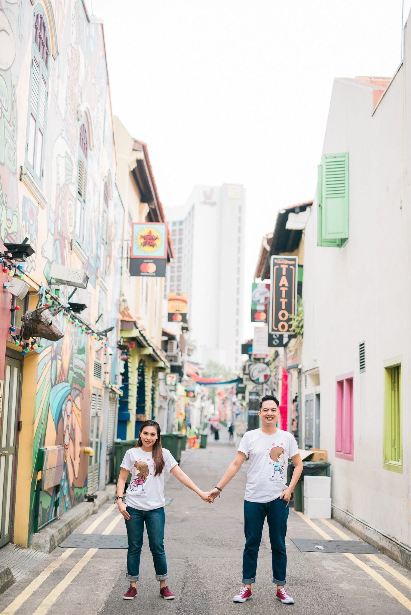 Pin by Elgietoy Mina on HAJI LANE SINGAPORE PRE WEDDING